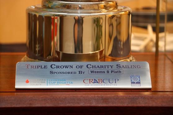 Triple Crown Sailing Trophy Plate