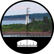 Binoculars Range Finder small